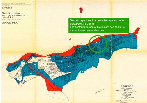 Plan de Prévention des Risques Avalanches à Barèges