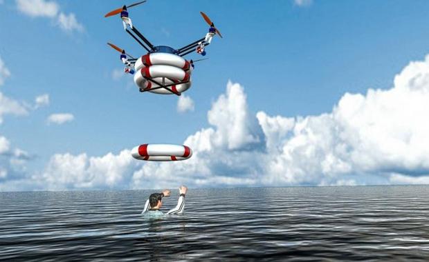 Drone secouriste