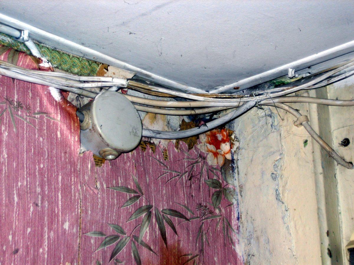 Exemple d'installation électrique dangereuse