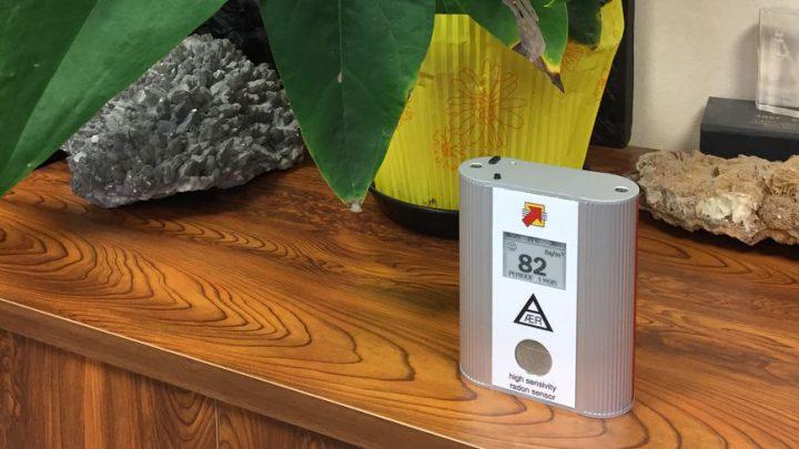 Détecteur de radon grand public