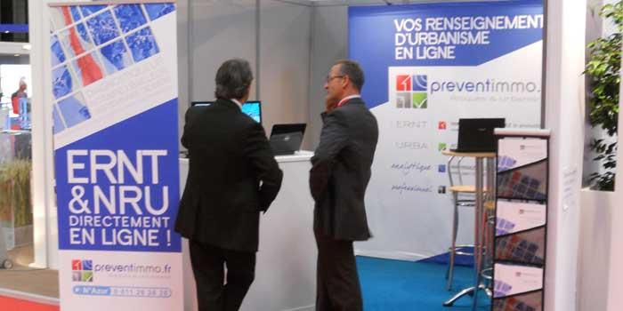 Le stand Preventimmo au salon H'Expo Bordeaux 2011