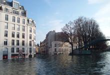 Ville inondée