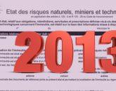 Formulaire ERNT 2013