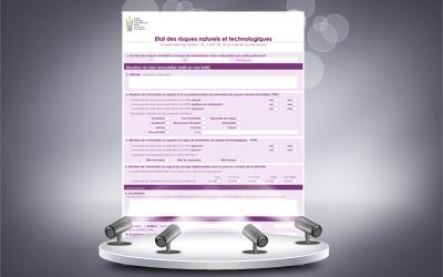 Nouveau modèle imprimé ERNT 2013