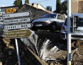 Inondations à Cannes