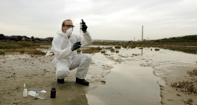 Etude de pollution des sols