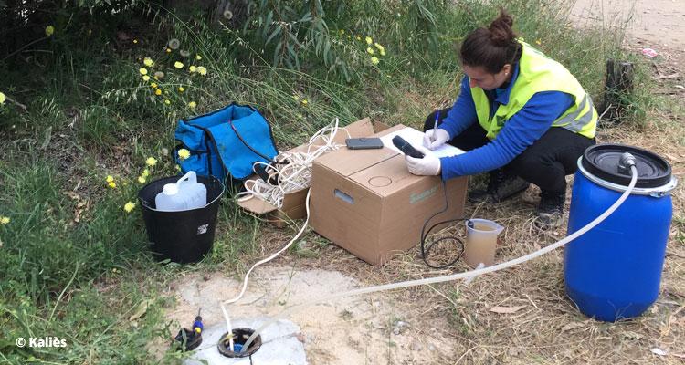 Pose de piézomètres et suivi de la qualité des eaux souterraines