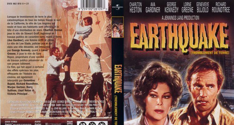 Affiche film Tremblement de terre 1974