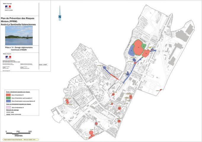 Exemple de cartographie des risques miniers